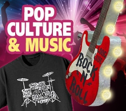 Pop Culture & Music Gifts