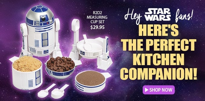 Star Wars � R2-D2 Measuring Cups & Spoons Set