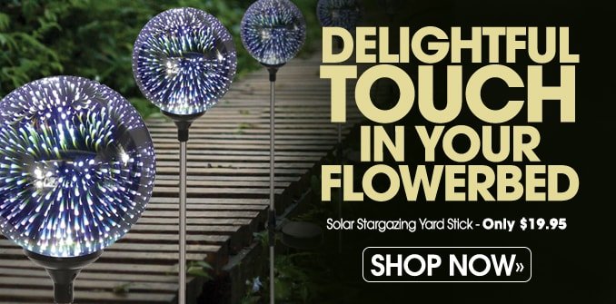 Solar Stargazing Yard Stick