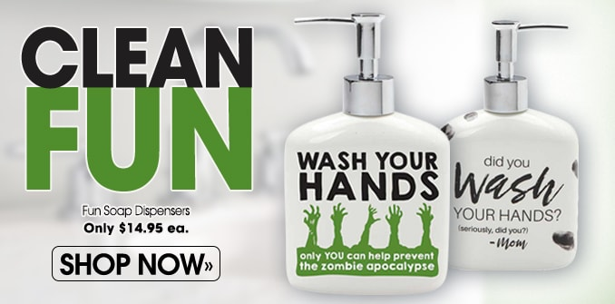 Zombie Soap Dispenser
