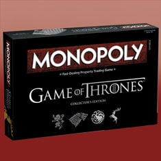 Monopoly® Game Of Thrones ™ Collector's Edition