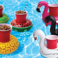 Fun Drink Floatie - Party Birds