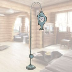 Fishing Pole Floor Clock