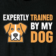 Expertly Trained Shirts - Dog