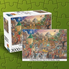 Magical Mystery Tour Beatles Puzzle