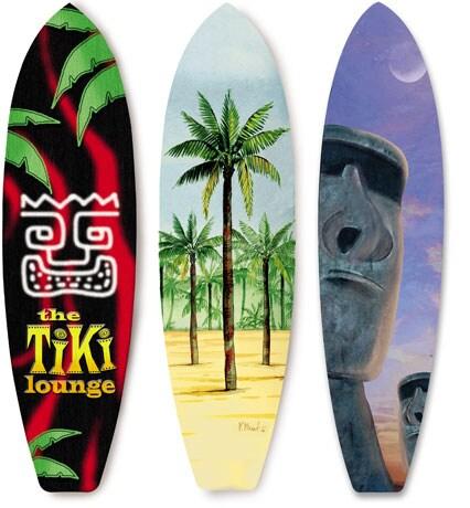 Tiki Lounge Surfboard Rug Tiki Central