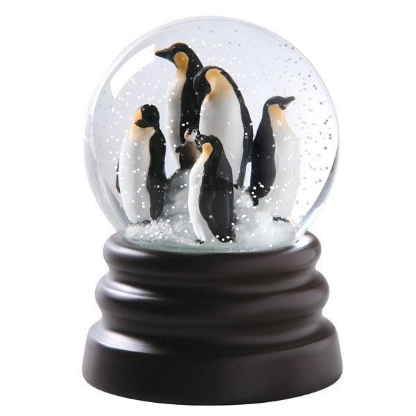 5eaadd17ed Penguin Musical Snow Globe