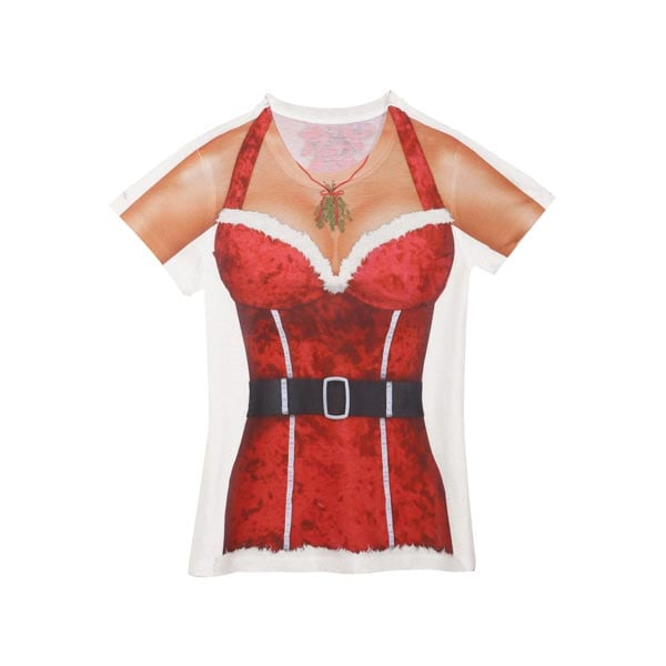 Faux Real Sexy Santa Ladies T-Shirt  sc 1 st  WhatOnEarthCatalog.com & Faux Real Sexy Santa Ladies T-Shirt at What on Earth | CK5112