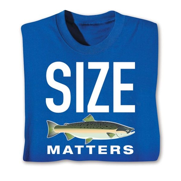 d6d30589 Size Matters Shirts   What on Earth   CV4411
