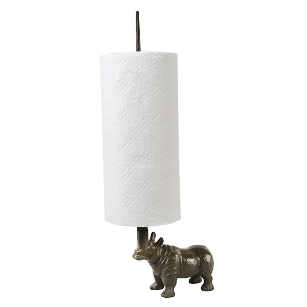 Dachshund Paper Towel Holder Cool Rhino Toilet Paper And Paper Towel Holder What On Earth CW60