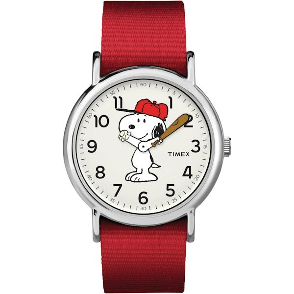 Peanuts classic timex character watches snoopy at what on earth cw2542 for Snoopy watches