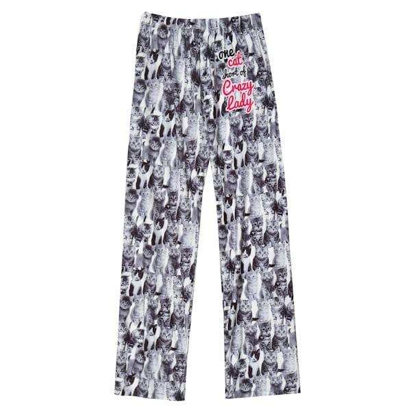 c822ad690b1 One Cat Short Pajama Pants