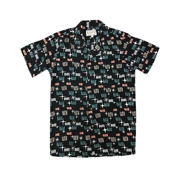 9c14cb6f7 Black Starlight Camp Shirt   What on Earth   CX0582