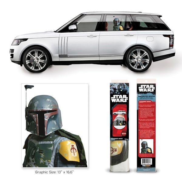 Car Window Clings >> Star Wars Ride Along Characters Car Window Clings 2 Reviews 4 5