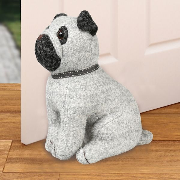 Pug Doorstop What On Earth Cx3486