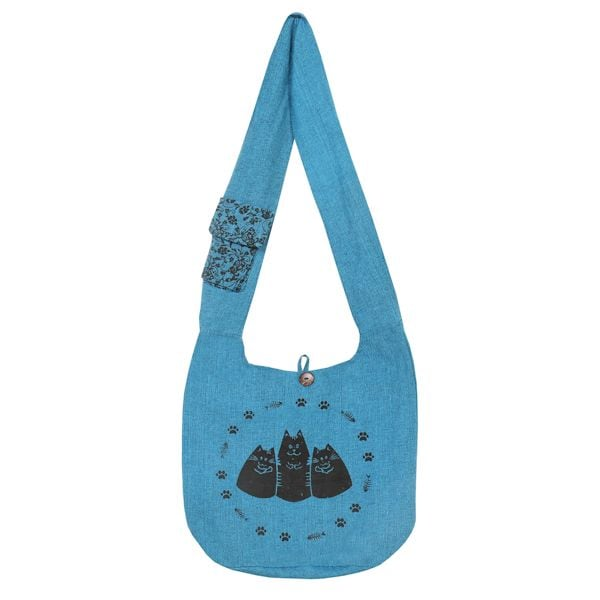 bb75153d15 Three Cats Hobo Bag