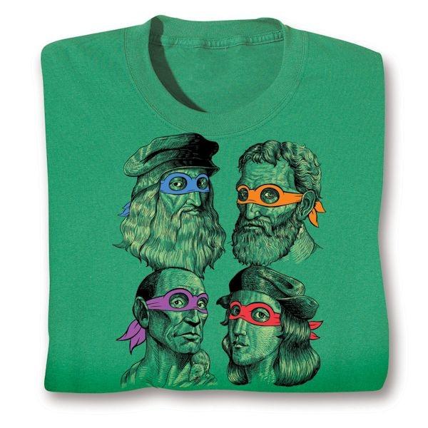 great variety styles latest look for Teenage Muntant Ninja Turtle Artist Shirts