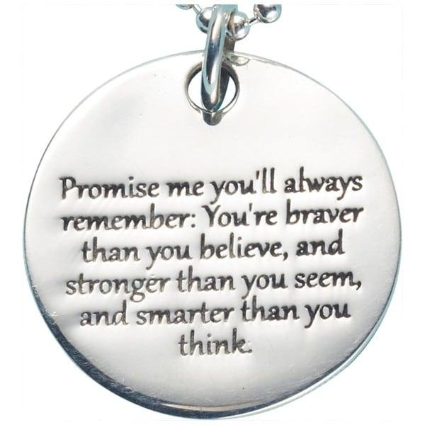 Promise me pendant at what on earth hn1486 promise me pendant aloadofball Choice Image