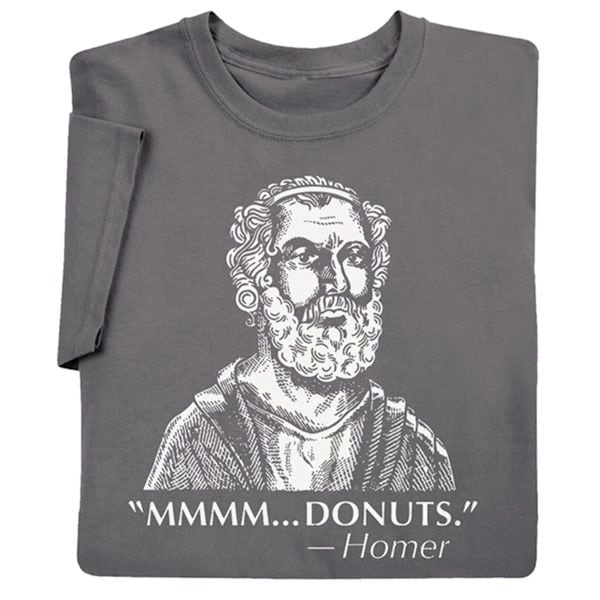 62da344f0 Homer Donuts - Famous Quote T-Shirt | What on Earth | HX2342