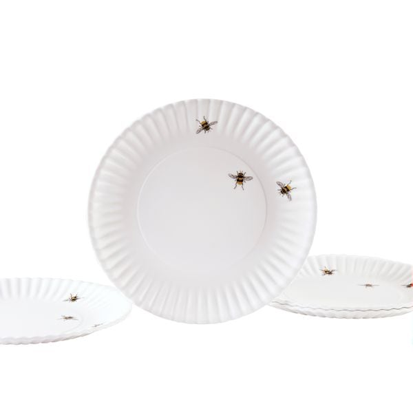Melamine Bee Plates - 9  - Set Of 4  sc 1 st  WhatOnEarthCatalog.com & Melamine Bee Plates - 9 - Set Of 4 at What on Earth | TA2742