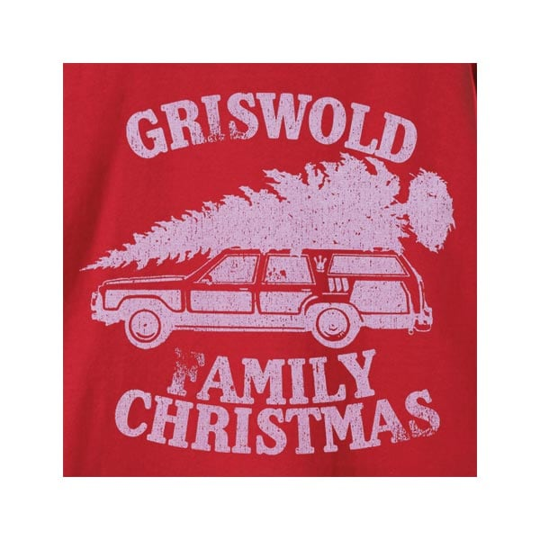 Griswold Family Christmas T Shirt At What On Earth Vj7292t