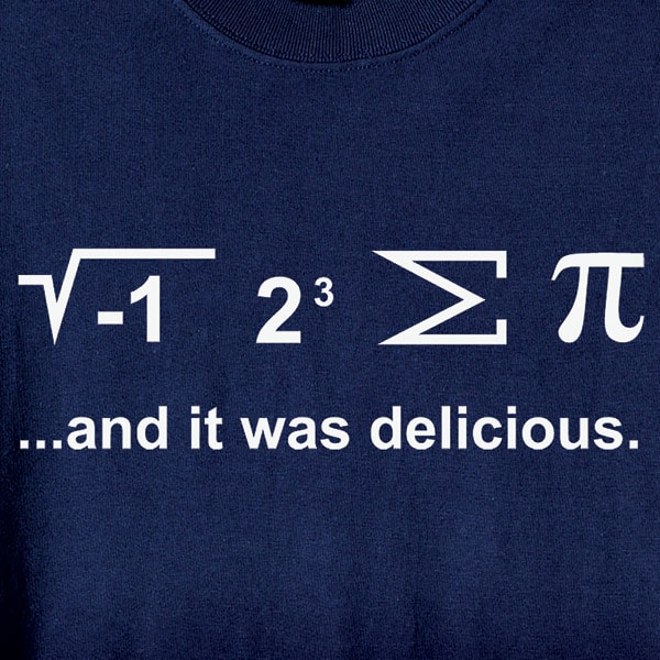 d46ad1081 I Ate Some Pi Shirt with Math Equation | 12 Reviews | 4.83 Stars | What on  Earth | VN3551