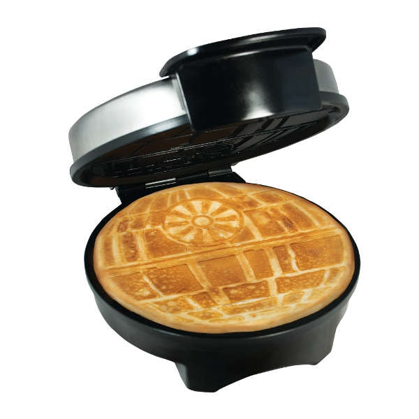 star wars death star waffle maker at what on earth vr8079. Black Bedroom Furniture Sets. Home Design Ideas
