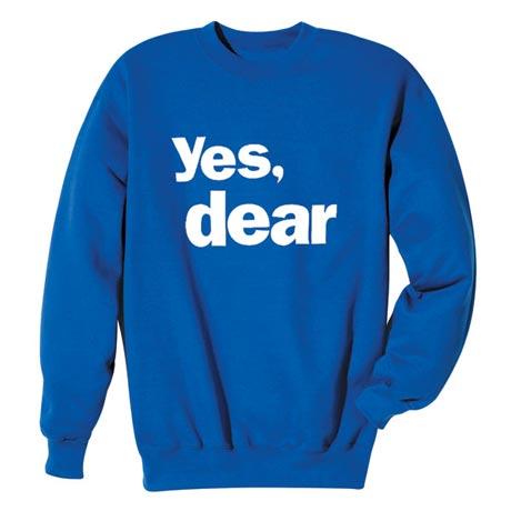Yes, Dear Shirt