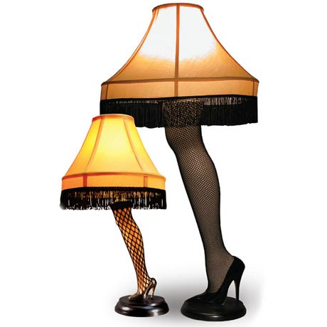 Leg Lamps From A Christmas Story.A Christmas Story 40 Leg Lamp