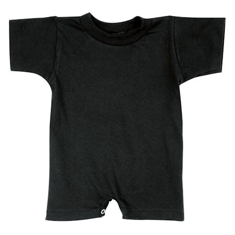 Baby Snapsuit Black