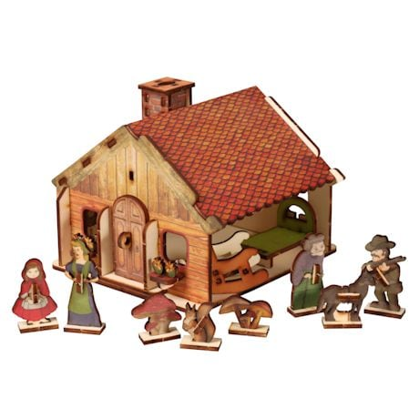 Childhood Stories Wood Puzzles