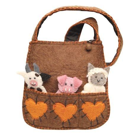 Mom's Puppet Handbag