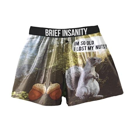 Comical Boxers - Lost My Nuts - Squirrel