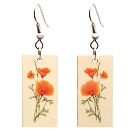 Botanical Prints Earrings