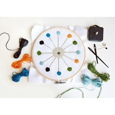 Cross-Stitch Clock Kit