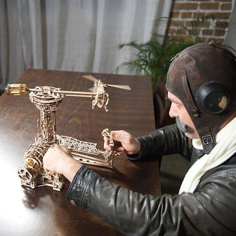 Biplane Wood Puzzle
