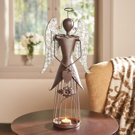 Winged Angel Candle Holder
