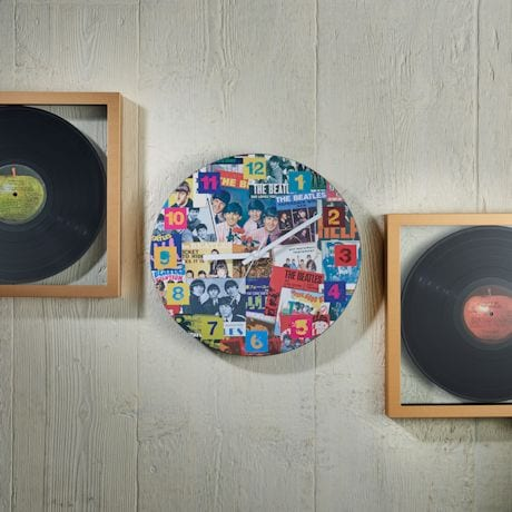 The Beatles Singles Collection Clock