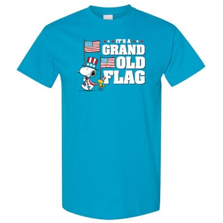 Peanuts Grand Old Flag T-Shirt