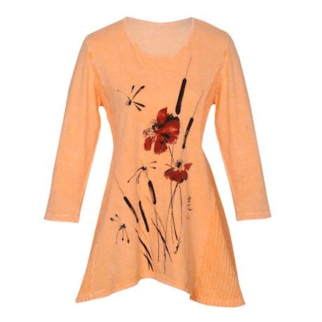 Cattails And Dragonflies Tunic