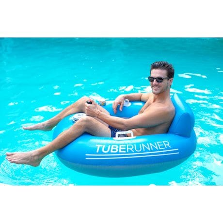 Motorized Pool Tube Lounger