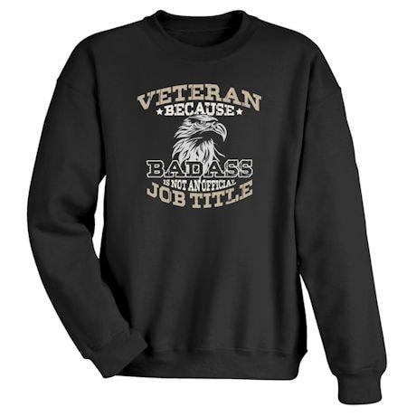 Veteran / Badass Shirts