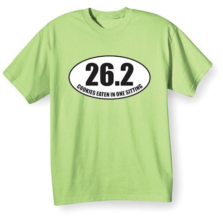 26.2 Cookies Eaten In One Sitting Shirts