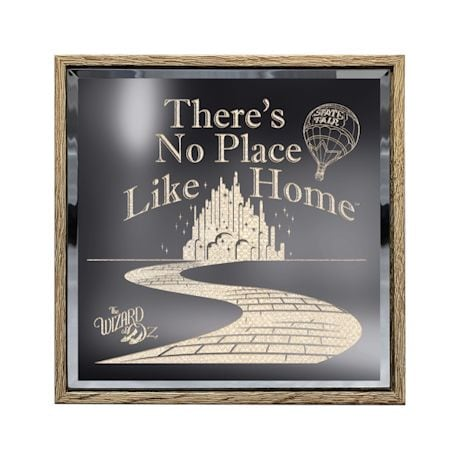 No Place Like Home Lighted Panel