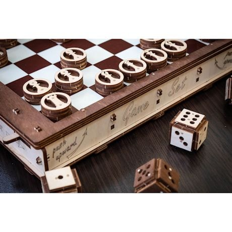 Build-Your-Own Wood Multi-Game Board Kit