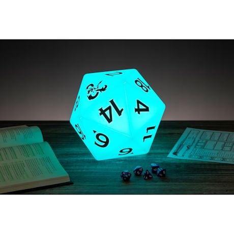 Dungeons & Dragons D20 Die Light