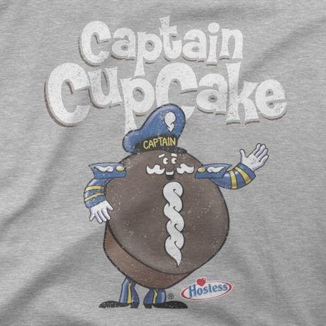 Hostess Tees - Captain Cupcake