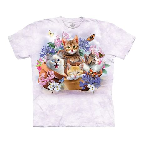 Cats In Planters Shirt