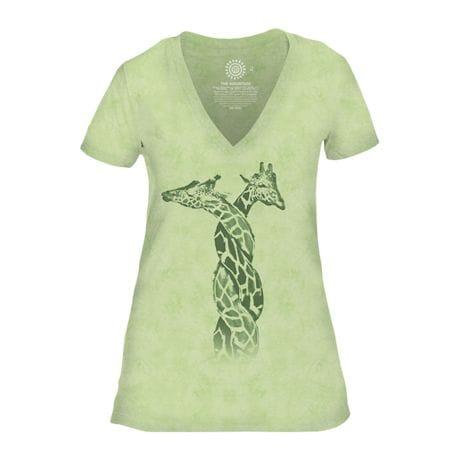 Entwined Giraffes Shirt