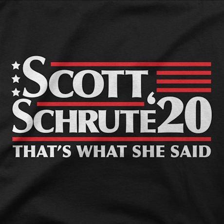 The Office: Scott/Schrute 2020 Shirts
